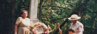 1970s – 1990s: Families navigated undergrowth to honor loved ones